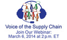 Voice of the Supply Chain Webinar